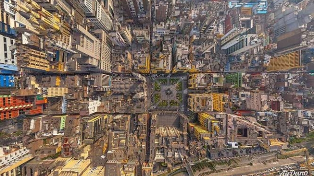 23 ciudades del mundo vistas desde arriba