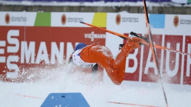 El esquiador Adrián Solano, el que nunca había visto la nieve (deja en ridículo a Venezuela)